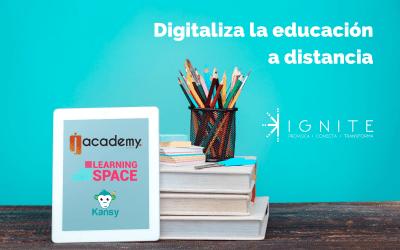 Digitaliza la educación a distancia con herramientas digitales educativas